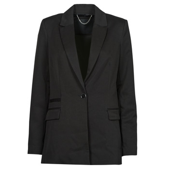 Vêtements Femme Vestes / Blazers Guess AIDA JACKET Noir