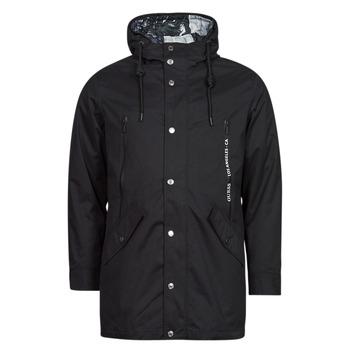 Vêtements Homme Parkas Guess COMMUTER DOUBLE JKT Noir