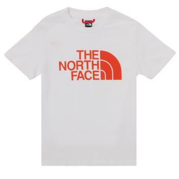 Vêtements Garçon T-shirts manches courtes The North Face EASY TEE SS Blanc