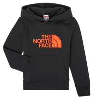Vêtements Garçon Sweats The North Face DREW PEAK HOODIE Noir