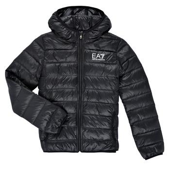 Vêtements Garçon Doudounes Emporio Armani EA7 ANISTA Noir