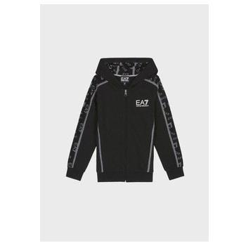 Vêtements Garçon Sweats Emporio Armani EA7 MANTHA Noir