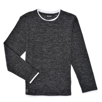 Vêtements Garçon T-shirts manches longues Deeluxe MONAN Noir