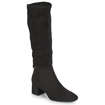 Chaussures Femme Bottes ville JB Martin ANNA Noir