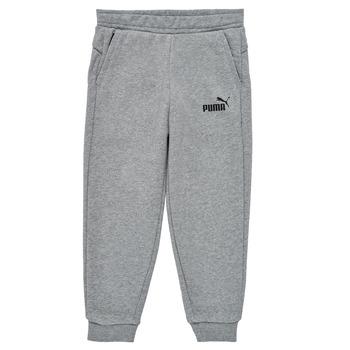 Vêtements Garçon Pantalons de survêtement Puma ESSENTIAL SLIM PANT Gris