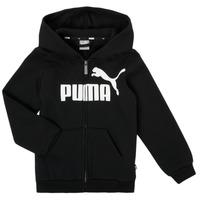 Vêtements Garçon Sweats Puma ESSENTIAL BIG LOGO FZ HOODIE Noir
