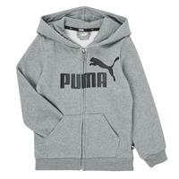 Vêtements Garçon Sweats Puma ESSENTIAL BIG LOGO FZ HOODIE Gris