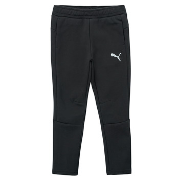 Vêtements Garçon Pantalons de survêtement Puma EVOSTRIPE PANT Noir