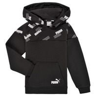 Vêtements Garçon Sweats Puma PUMA POWER AOP HOODIE Noir