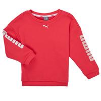 Vêtements Fille Sweats Puma ALPHA CREW SWEAT Rose