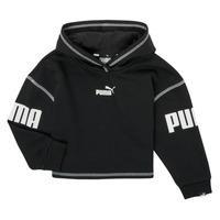Vêtements Fille Sweats Puma PUMA POWER HOODIE Noir