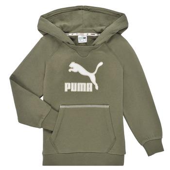 Vêtements Garçon Sweats Puma T4C HOODIE Kaki