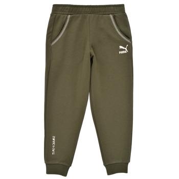 Vêtements Garçon Pantalons de survêtement Puma T4C SWEATPANT Kaki