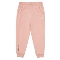 Vêtements Fille Pantalons de survêtement Puma T4C SWEATPANT Rose
