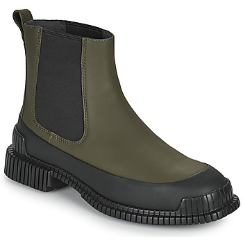 Chaussures Femme Boots Camper PIX Kaki / Noir