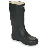 Chaussures Enfant Bottes de pluie Aigle WOODY POP Marine