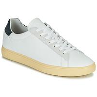 Chaussures Homme Baskets basses Clae BRADLEY CALIFORNIA Blanc / Bleu