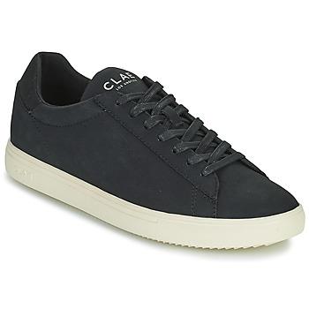 Chaussures Homme Baskets basses Clae BRADLEY VEGAN Noir / Blanc