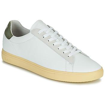 Chaussures Homme Baskets basses Clae BRADLEY CALIFORNIA Blanc / Vert