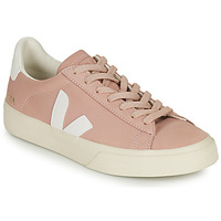 Chaussures Femme Baskets basses Veja CAMPO Rose / Blanc