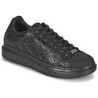 Chaussures Homme Baskets basses Guess SALERNO Noir