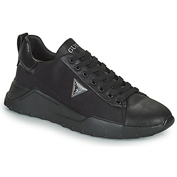 Chaussures Homme Baskets basses Guess LUCCA Noir