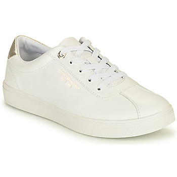 Chaussures Femme Baskets basses Tommy Hilfiger COURT LEATHER SNEAKER Blanc