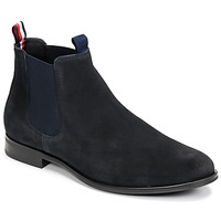 Chaussures Homme Boots Tommy Hilfiger CASUAL SUEDE CHELSEA Marine