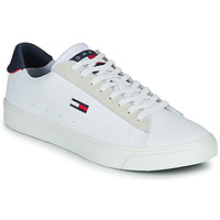 Chaussures Homme Baskets basses Tommy Jeans RETRO VULC TJM LEATHER Blanc