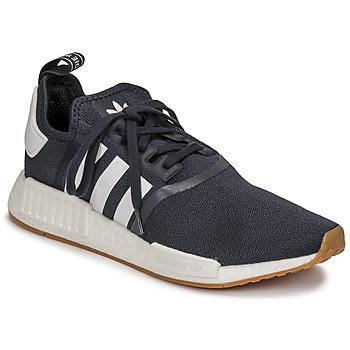 Chaussures Baskets basses adidas Originals NMD_R1 Marine / Blanc