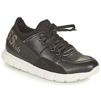 Chaussures Fille Baskets basses Guess SCARLETT Noir