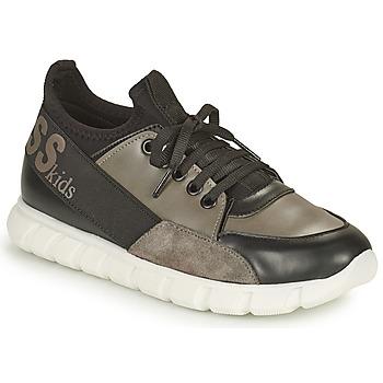 Chaussures Garçon Baskets basses Guess BRODY Noir