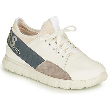 Chaussures Garçon Baskets basses Guess BRODY Blanc