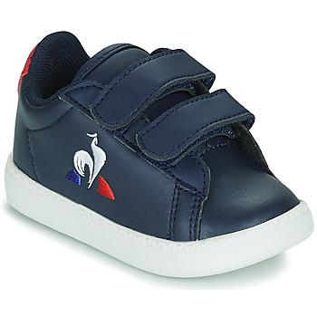 Chaussures Enfant Baskets basses Le Coq Sportif COURTSET INF Bleu