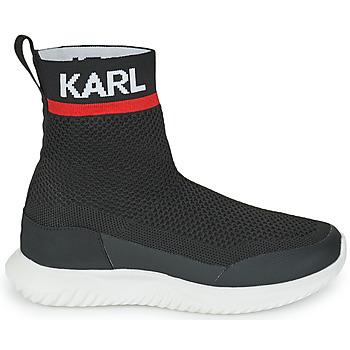 Baskets montantes enfant Karl Lagerfeld PELINDRA