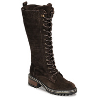 Chaussures Femme Bottes ville Elue par nous KOFOUR Marron