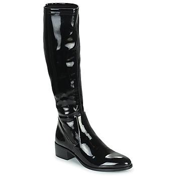 Chaussures Femme Bottes ville Adige CELINE V1 VERNIS NOIR Noir