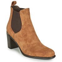 Chaussures Femme Bottes ville Adige FANY V11 VELOURS HAVANE Marron