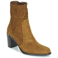Chaussures Femme Bottes ville Adige FARA V2 ECAILLE NOIX Marron
