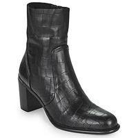 Chaussures Femme Bottes ville Adige FARA V4 DRAGON BRONZE Noir