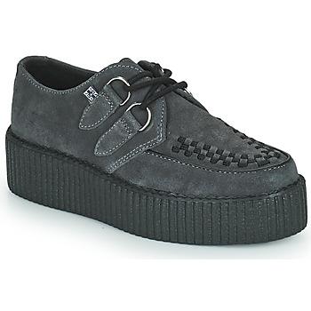 Chaussures Derbies TUK VIVA HIGH CREEPER Gris