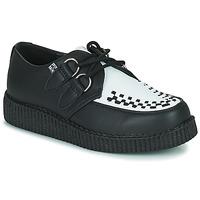 Chaussures Derbies TUK VIVA LOW TOE CREEPER Noir / Blanc
