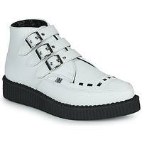 Chaussures Boots TUK POINTED CREEPER 3 BUCKLE BOOT Blanc