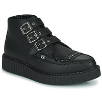 Chaussures Boots TUK POINTED CREEPER 3 BUCKLE BOOT Noir