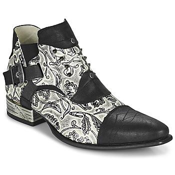 Chaussures Homme Derbies New Rock M-NW135-C12 Blanc / Noir