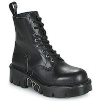 Chaussures Boots New Rock M-MILI084N-S3 Noir