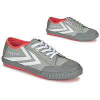 Chaussures Homme Baskets basses Feiyue STAPLE X FE LO 1920 Gris / Blanc