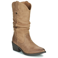 Chaussures Femme Bottes ville MTNG 51678-C52073 Taupe