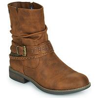 Chaussures Femme Boots MTNG 51892-C52072 Cognac