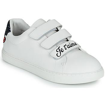 Chaussures Femme Baskets basses Bons baisers de Paname EDITH JE T AIME MOI NON PLUS Blanc